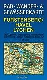 Fürstenberg/Havel, Lychen 1 : 35 000 Rad-, Wander- und Gewässerkarte: Mit Neuglobsow, Bredereiche, Himmelpfort, Küstrinchen, Beenz, Rutenberg, Dabelow Picture