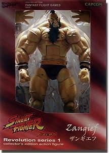 Street Fighter Revolution Series 1 Zangief Action Figure