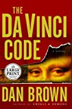 The Da Vinci Code (Large Print) (0552149519) by Dan Brown
