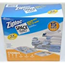 Ziploc Space Bag 15 Bag Space Saver Set – $27.48!