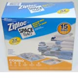 Ziploc Space Bag 15 Bag Space Saver Set by Ziploc