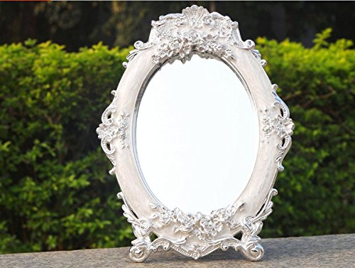 Carved Rose Desktop Continental Married Mirror/ Vanity Mirror front-68509