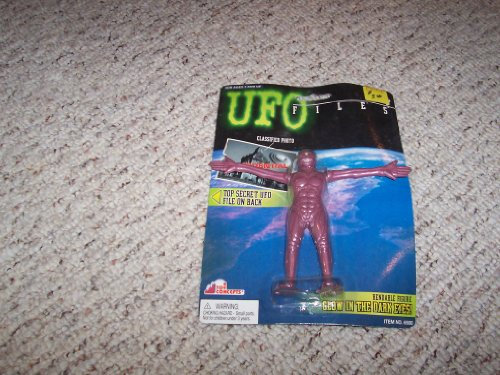 UFO Files Arterian Captain Bendable Figure