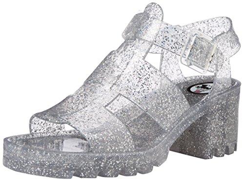 JuJu ShoesKYRA - Sandali donna , Trasparente (Transparent (Multi Glitter)), 43