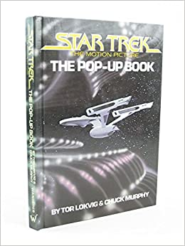 star trek pop up book tor lokvig books. Black Bedroom Furniture Sets. Home Design Ideas