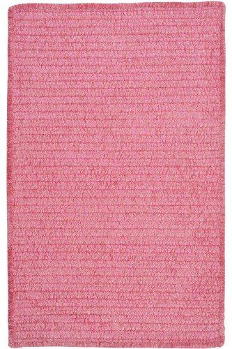 Allusion Area Area Rug, 4' SQUARE, SILKEN ROSE