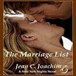 The Marriage List: New York Nights, Book 1 | Jean Joachim