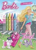 Mary Man-Kong Travel in Style (Barbie) (Color Plus Chunky Crayons)