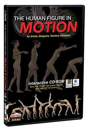 Human Figure in Motion Interactive CD-ROM