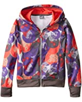 PUMA Big Girls' All Over Print Hoodie