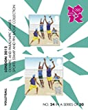 London 2012 Olympic and Paralympic Games sports Stamp and Pin Collection - VOLLEYBALL (No.24 in a set of 30)