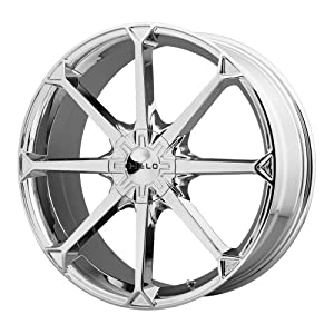 Helo HE870 Wheel with Silver Finish (20×8″/5x120mm)