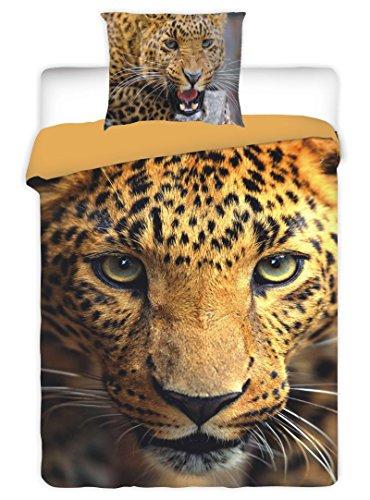 Leopard Comforter Set