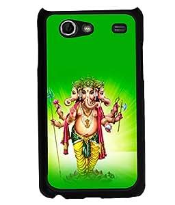 printtech Lord God Ganesha Back Case Cover for Samsung I9070 Galaxy S Advance :: Samsung Galaxy S II Lite