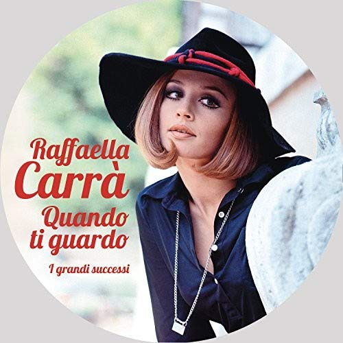 Vinilo : Raffaella Carra - Quando Ti Guardo (Picture Disc Vinyl LP, Italy - Import)