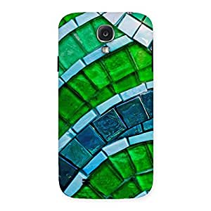 Enticing Green Footpath Back Case Cover for Samsung Galaxy S4