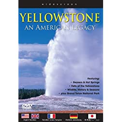 Yellowstone: An American Legacy [Blu-ray]