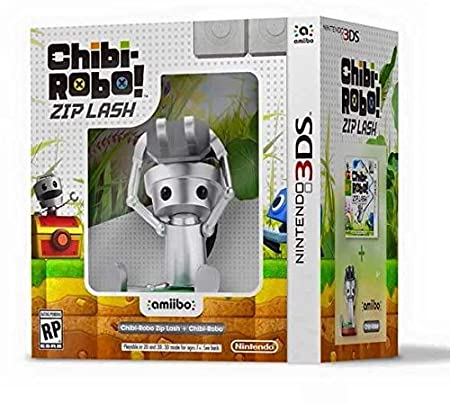 Chibi-Robo!: Zip Lash with Chibi-Robo amiibo bundle - Nintendo 3DS