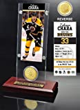 Zdeno Chara Ticket and Bronze Coin Desktop Acrylic at Amazon.com