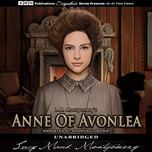 Anne of Avonlea Audiobook