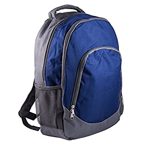 Reinforced Design Water Resistant Backpack (Brody Navy Gray)