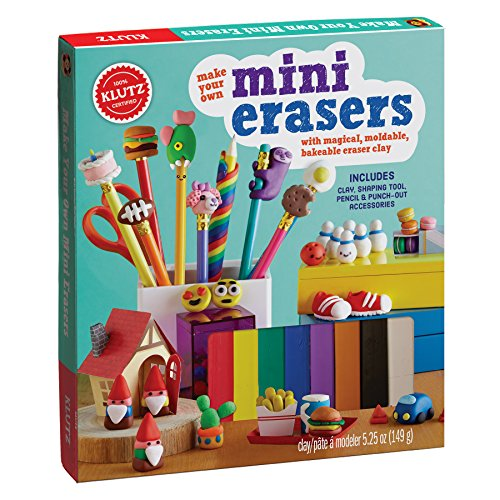 Make Your Own Mini Erasers (Klutz)