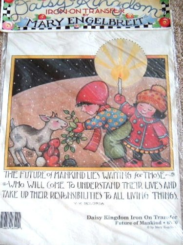 FUTURE OF MANKIND - MARY ENGELBREIT IRON-ON TRANSFER BY DAISY KINGDOM #6540