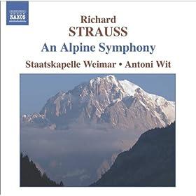 Strauss, R.: Alpensinfonie (Eine) (An Alpine Symphony) (Weimar Staatskapelle, Wit)