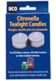 UCO Micro/Mini Citronella Tea Light Candle (Pack of 6) - Blue