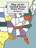 Map of the United States Sticker Picture (Dover Sticker Books)