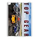 Custom BBC Top Gear The Stig motoring TV series IPad air TPU,New Ipad air (Ipad5,plastic and TPU) Shell Case Cover white&black (HD image)