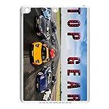 Custom BBC Top Gear The Stig motoring TV series IPad air TPU,New Ipad air (Ipad5,plastic and TPU) Shell Case Cover white&black (HD image)
