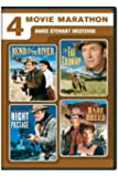 4 Movie Marathon: James Stewart Western Collection [Import]