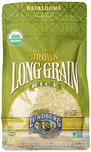 Lundberg Organic Long Grain Rice, Brown, 32 Ounce (Pack of 6) (Organic Whole Grain Brown Rice compare prices)