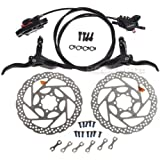 SHIMANO BR-BL-M395 Hydraulic Brake Set Front & Rear Black RT56 160mm Rotors