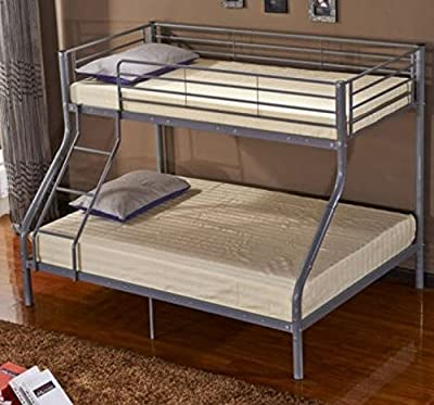 Triple Bunk Bed for Children with Metal Frame Sleeper for Kids optional to choose your Mattress