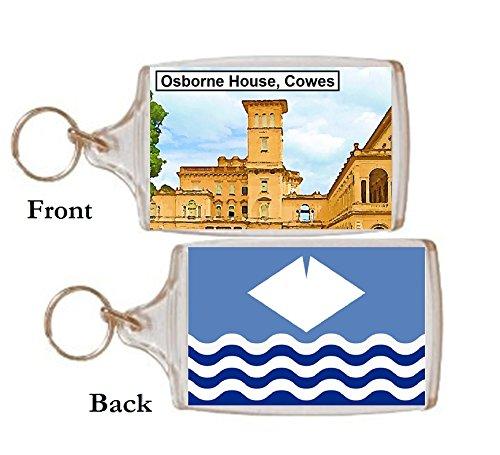 Schlüsselring Cowes Osborne Haus Geschenk Tourist Souvenir