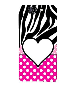 Love Dhoka 3D Hard Polycarbonate Designer Back Case Cover for Micromax Canvas Knight A350