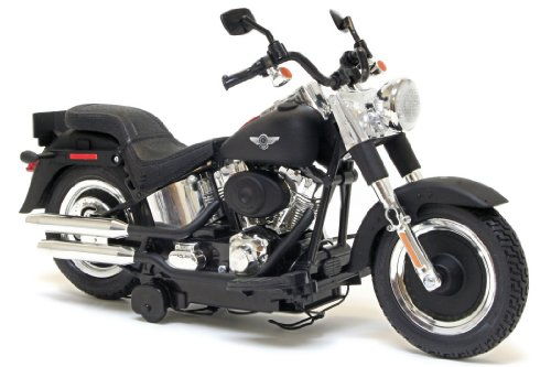 Harley-Davidson Battery Operated Motorcycle Motor Cycles Mighty Bikes - New Bright (Assorted) Softail or Fat Boy