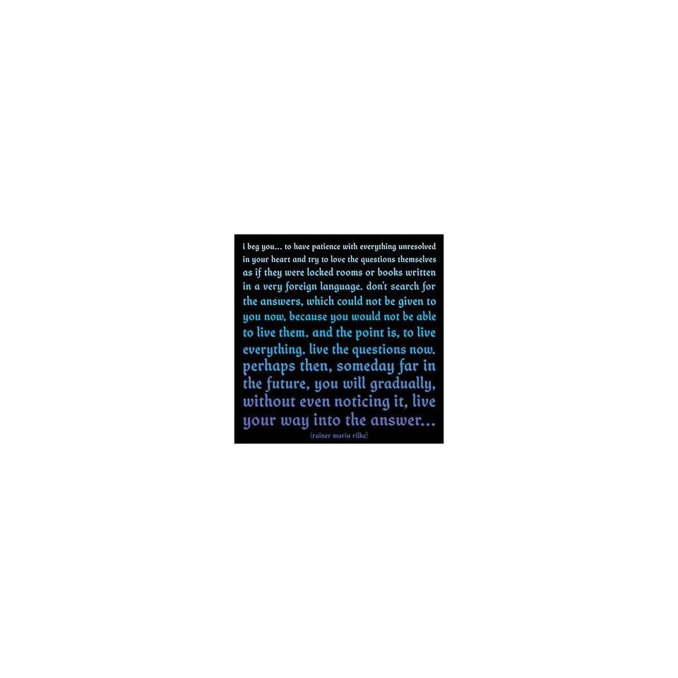 I Beg You Rainer Maria Rilke Color Magnet On Popscreen