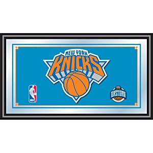 NBA New York Knicks Logo Framed Mirror by Trademark Global