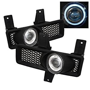 FORD F150 / EXPEDITION 1997 1998 HALO PROJECTOR FOG LIGHTS HALO - SMOKE