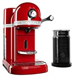 KitchenAid KES0504ER Nespresso Bundle, Empire Red