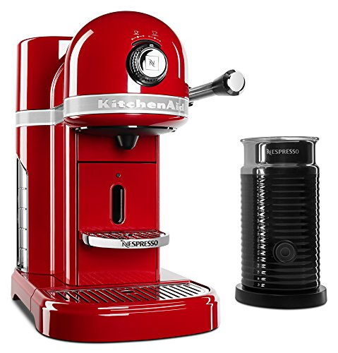 KitchenAid KES0504ER Nespresso Bundle, Empire Red (19 Bar Pump Espresso compare prices)