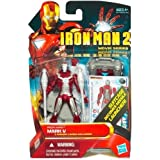 """Marvel Iron Man 2 Movie 3 3/4"""" Movie Series Iron Man Mark V Action Figure with suitcase Missile Launcher"""
