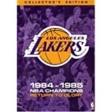 Los Angeles Lakers 1985 NBA Champions - Return to Glory ~ Magic Johnson