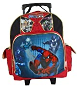 SpiderMan Small Rolling BackPack - Spider Man Small Rolling School Bag