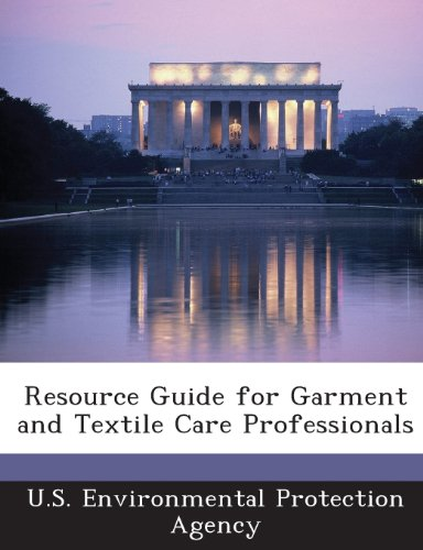 Resource Guide for Garment and Textile Care Professionals