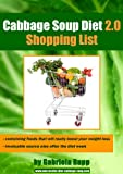Cabbage Soup Diet 2.0 - Shopping List