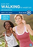Gaiam - Walking For Weight Loss - plus Audio CD [DVD]
